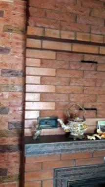Камин в загородном доме